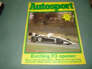 AUTOSPORT 1982 March 11 (Portugese Rally, F3,Rohrl interview)